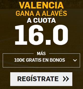 Supercuota Betfair Copa del Rey Valencia Alaves