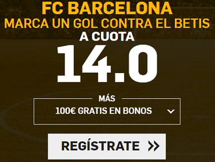 Supercuota Betfair la liga FC Barcelona - Betis