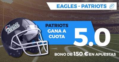 Supercuota Paston NFL Eagles - Patriots