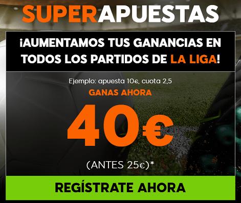 Supercuotas 888sport liga