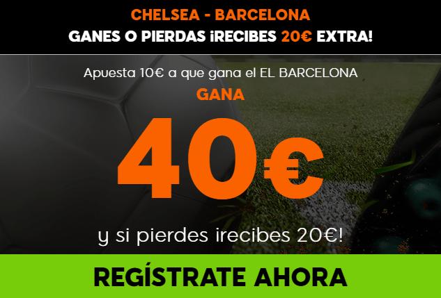 Supercuota 888sport Champions League Chelsea - Barcelona