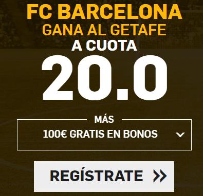 Supercuota Betfair la Liga FC Barcelona - Getafe