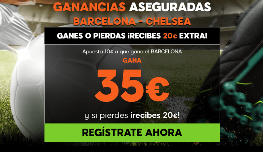 Supercuota 888sport Champions League Barcelona