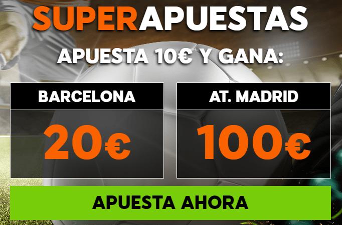 Supercuota 888sport la Liga Barcelona - At Madrid