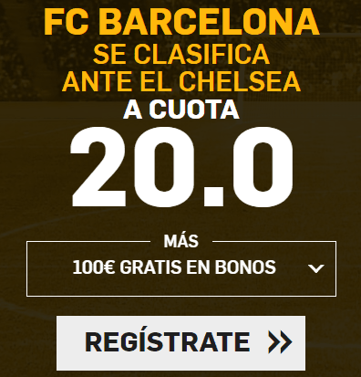 Supercuota Betfair Champions League Barcelona