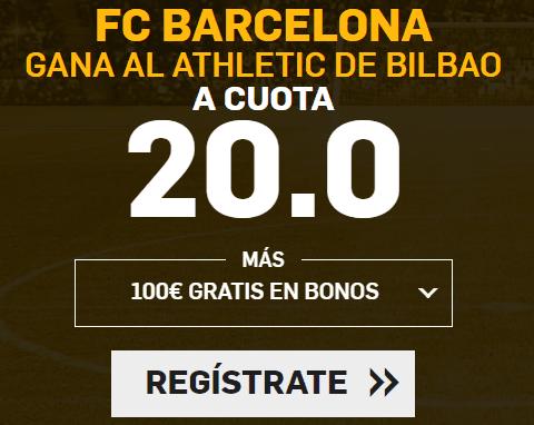 Supercuota Betfair la Liga FC Barcelona - Athletic Bilbao