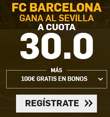 Supercuota Betfair la Liga FC Barcelona - Sevilla