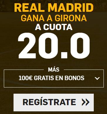 Supercuota Betfair la Liga Real Madrid - Girona