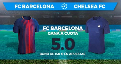Supercuota Paston Champions League Barcelona