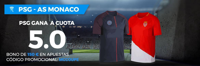 Supercuota Paston Liga Francesa PSG - AS Monaco