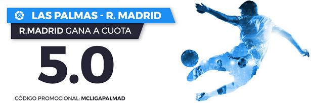 Supercuota Paston la Liga Las Palmas - R. Madrid
