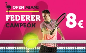 Supercuotas Supercuota Wanabet Open Miami Federer Campeon