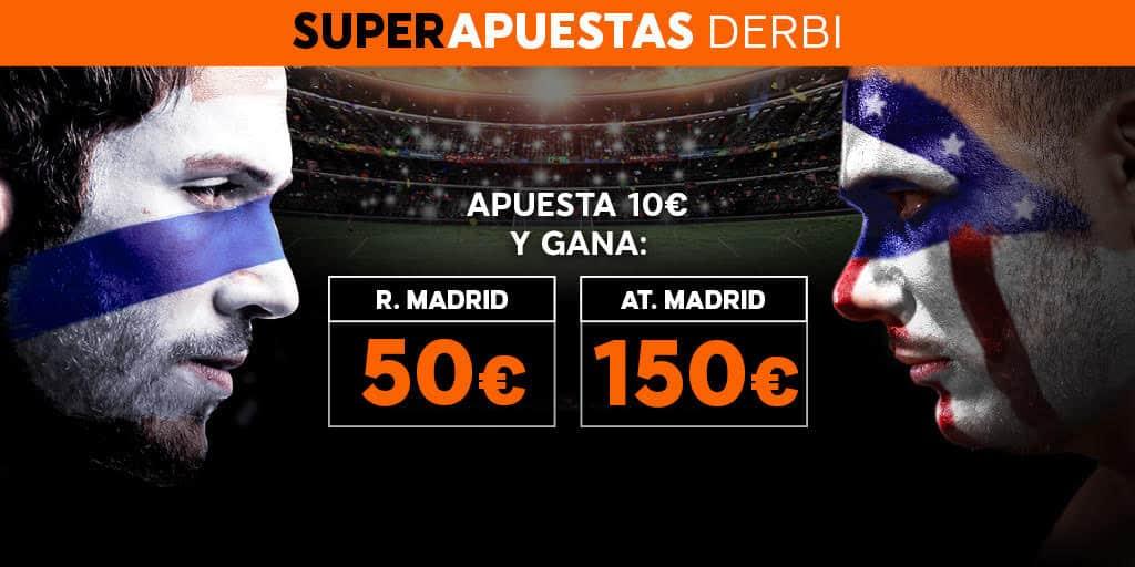 Supercuota 888sport la Liga R. Madrid - At. Madrid