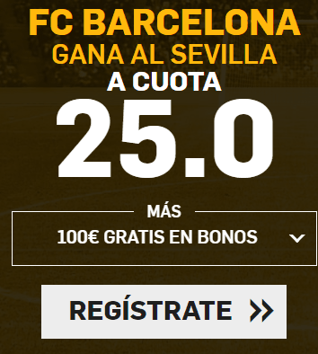 Supercuota Betfair Final Copa del Rey Barcelona - Sevilla