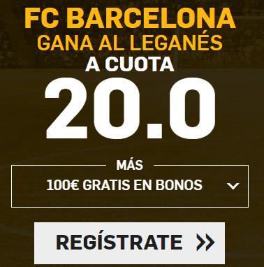 Supercuota Betfair la Liga Barcelona - Leganes