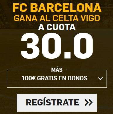 Supercuota Betfair la Liga FC Barcelona - Celta Vigo