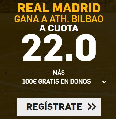 Supercuota Betfair la Liga Real Madrid - Ath Bilbao