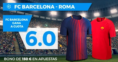 Supercuota Paston Champions League FC Barcelona - Roma