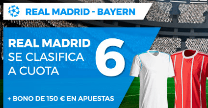 Supercuota Paston Champions League Real Madrid - Bayern