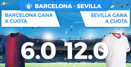Supercuota Paston Copa del Rey Barcelona - Sevilla