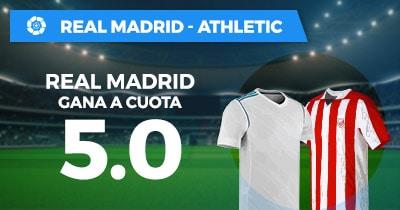Supercuota Paston la Liga Real Madrid - Athletic