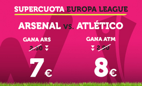 Supercuota Wanabet Europa League Arsenal vs Atlético