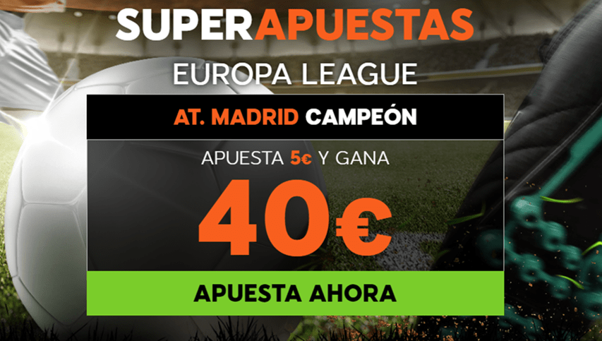 888sport Supercuota Europa League At. Madrid - Marsella