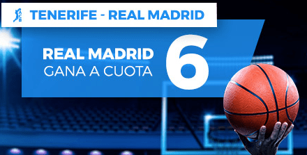 Supercuota Paston ACB Tenerife - Real Madrid