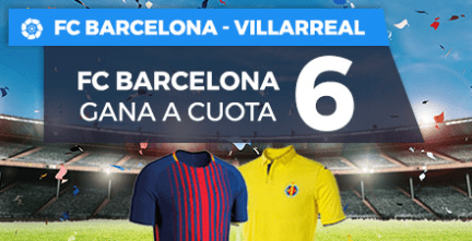 Supercuota Paston la Liga Barcelona - Villarreal