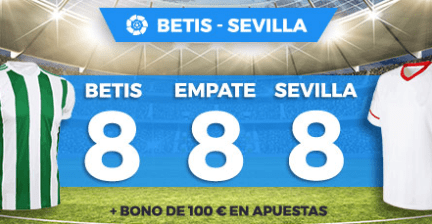 Supercuota Paston la Liga Betis - Sevilla