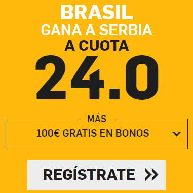 Supercuota Betfair Mundial Brasil - Serbia
