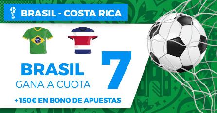 Supercuota Paston Mundial Brasil - Costa Rica