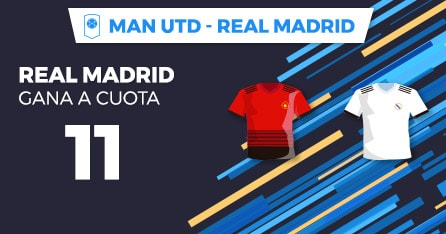 supercuota paston real Madrid - Man Utd