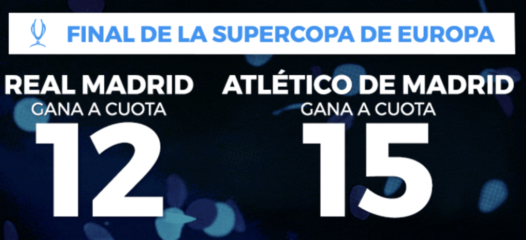 supercuota Paston supercopa Europa
