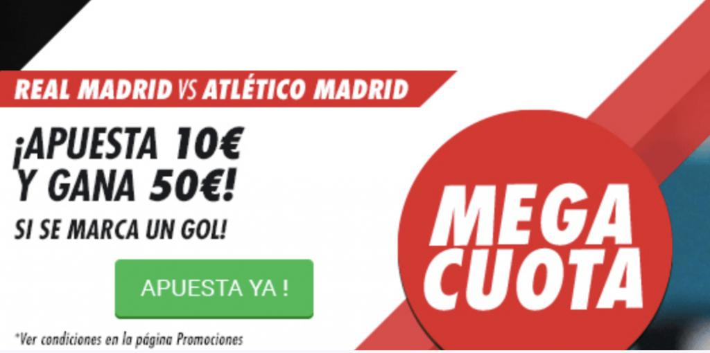 supercuota circus Real Madrid vs Atlético