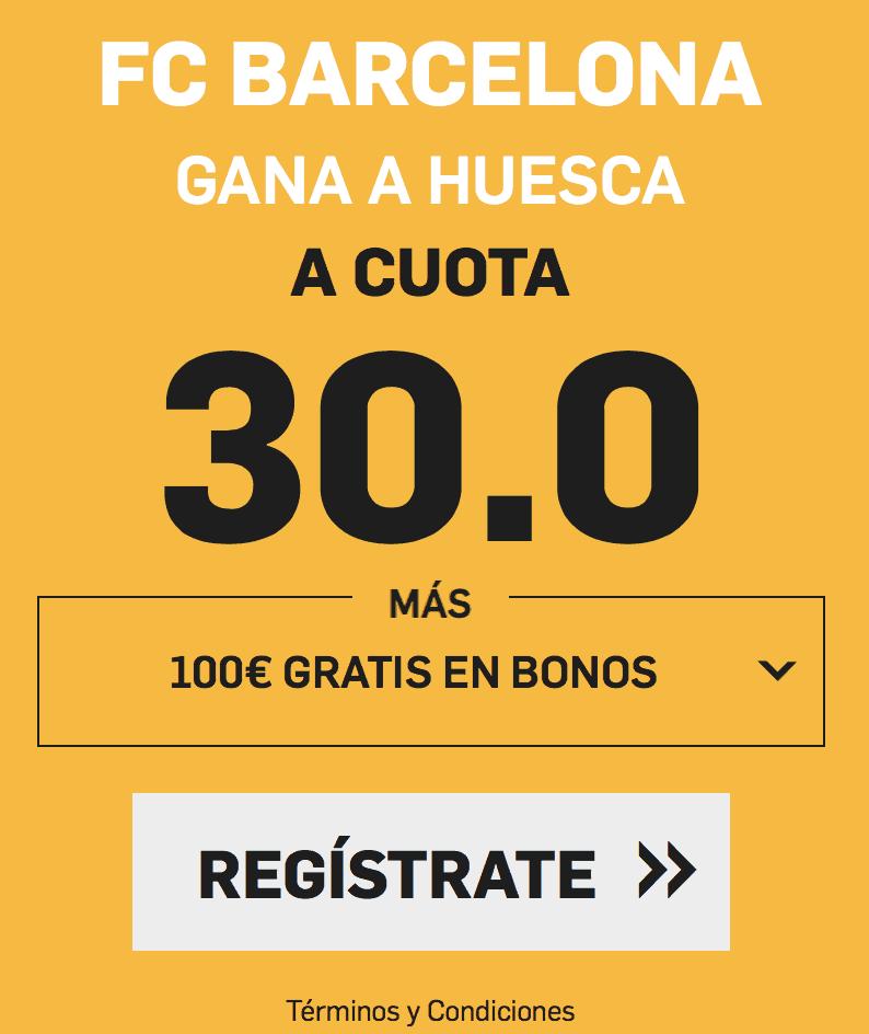 Supercuotas betfair Barcelona - Huesca
