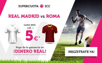 Supercuotas Wanabet Real Madrid - Roma