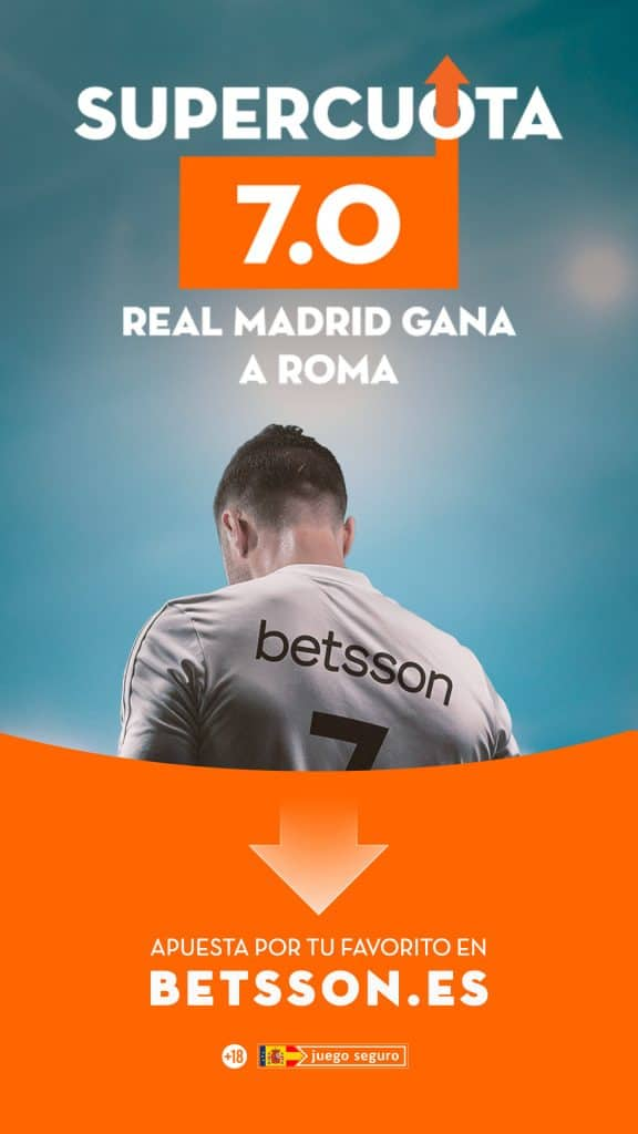 Supercuota betsson Champions Real Madrid