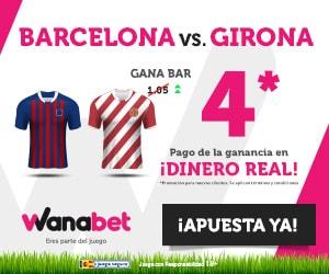 Supercuota Wanabet Fc Barcelona Girona