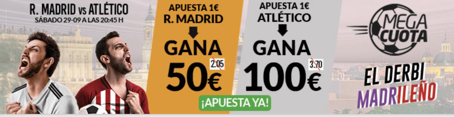 Supercuota Marca Apuestas Real Madrid - Atlético