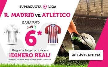 Supercuota Wanabet Real Madrid - Atlético