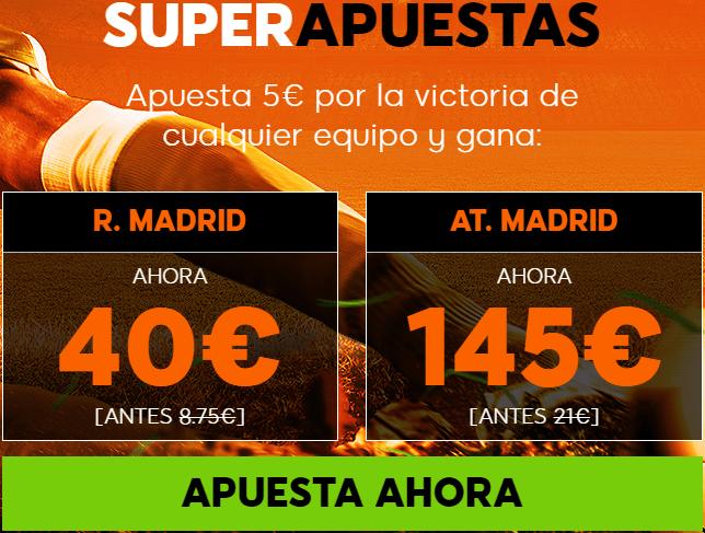 Supercuota 888sport Real Madrid - Atlético