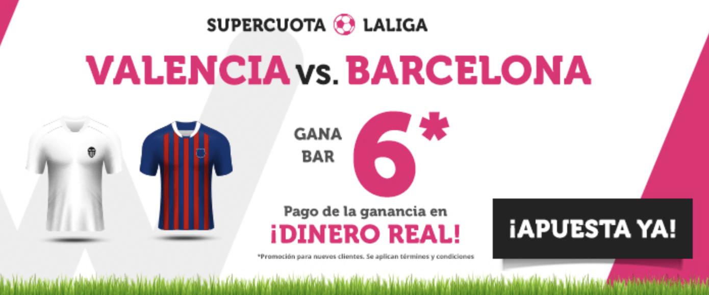 supercuota wanabet liga valencia - Barcelona