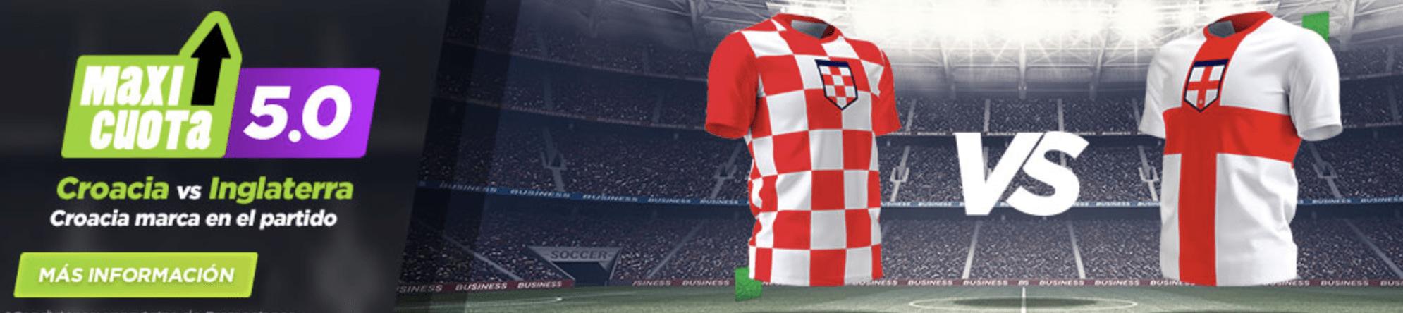 Supercuotas vivelasuerte Croacia - Inglaterra