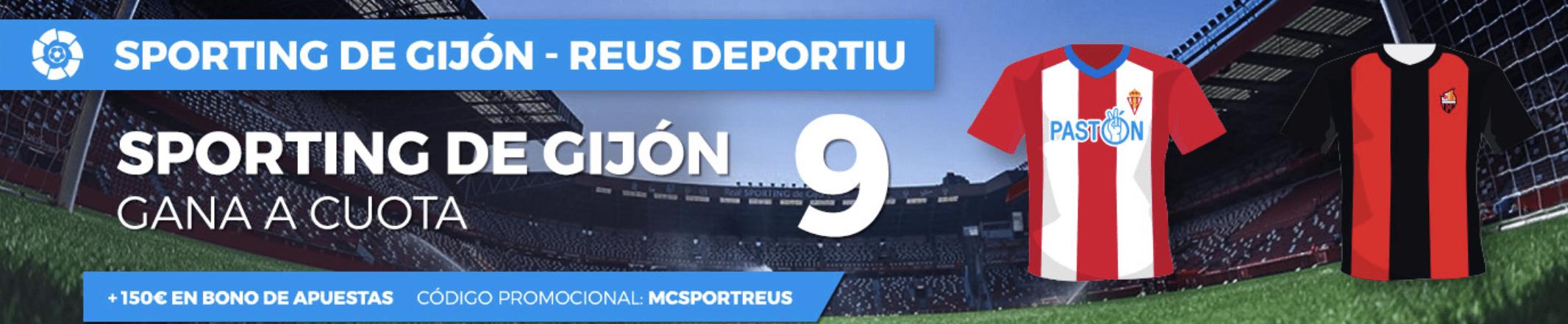 Supercuotas Pastón Sporting - Reus