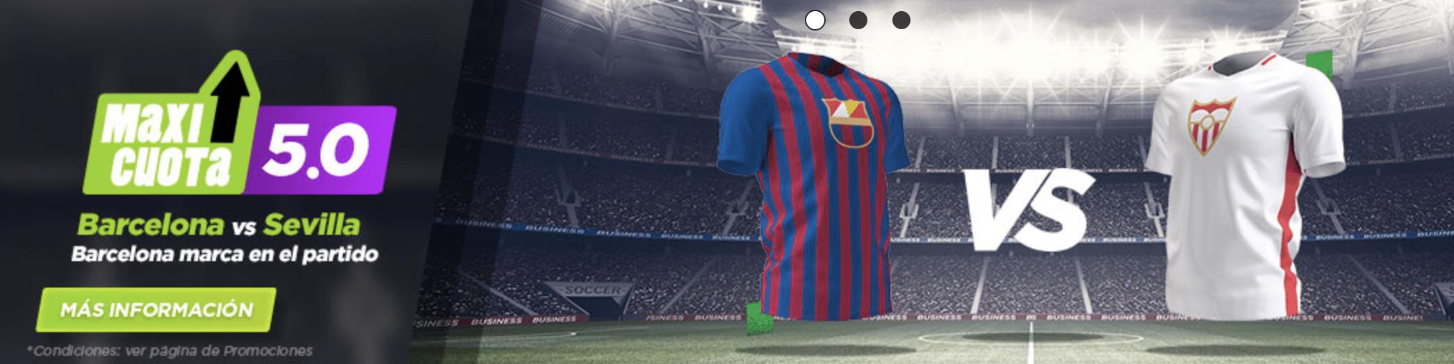Supercuotas Vivelasuerte FC Barcelona - Sevilla FC .