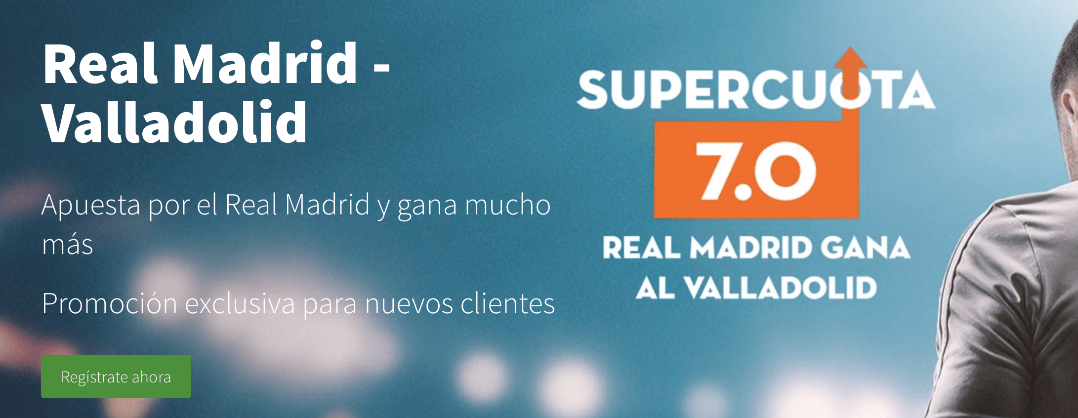 Supercuotas Betsson Real Madrid - Valladolid