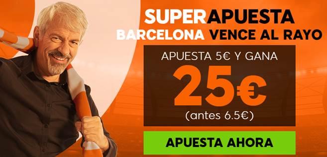 Supercuotas 888sport Rayo - FC Barcelona