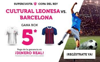 Supercuotas wanabet Copa del Rey FC Barcelona