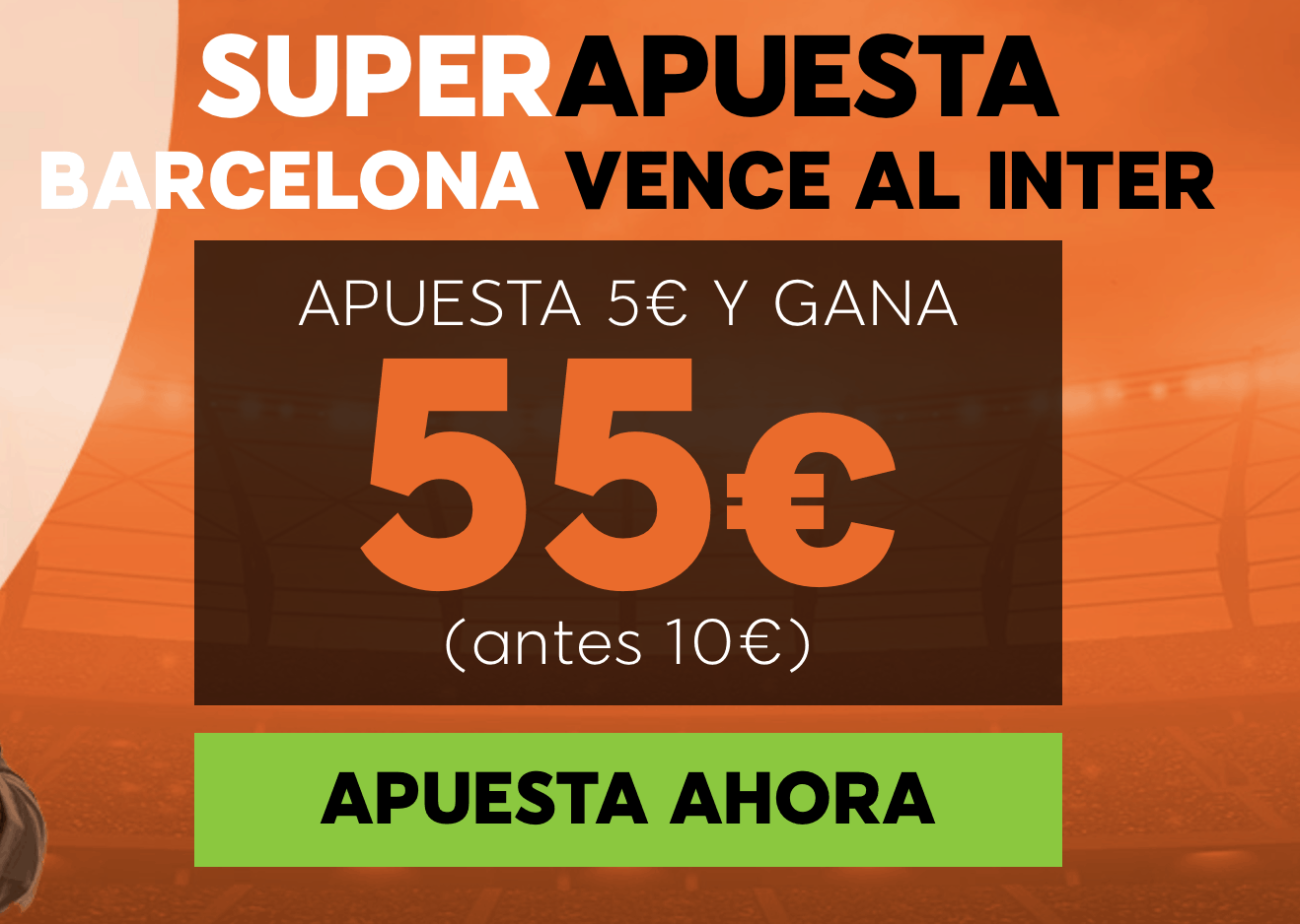 Supercuotas 888sport Champions League Inter - FC Barcelona